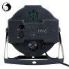 UKing ZQ-B53B 80W 36-LED 3-in-1 RGB Light Auto Strobe Sound Control DMX-512 Remote Control Stage Light Black