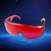UKing ZQ-YJ01 520-532nm Green Laser Pointer Eyes Protective Eyewear Goggles Red