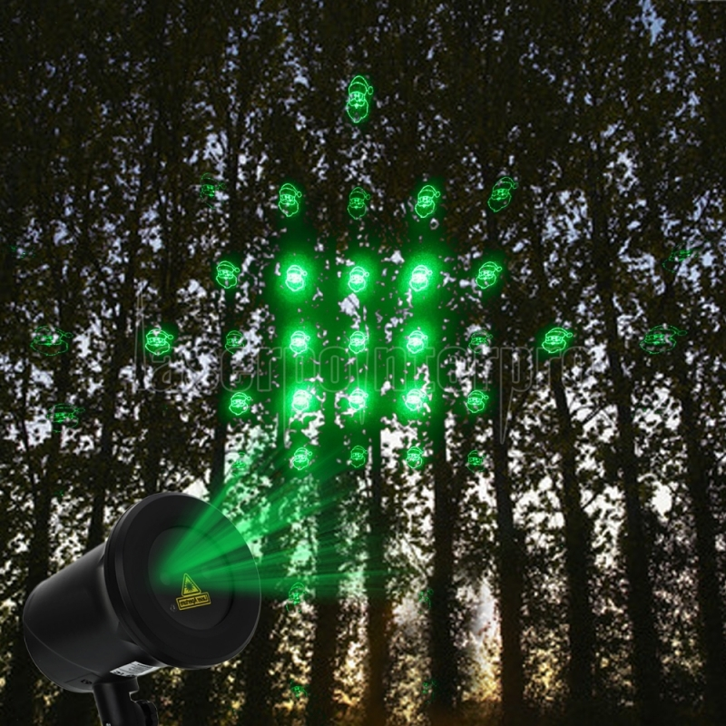 ... Kshioe Rotate Red and Four in One Green Laser Light LED Christmas Decoration Outdoor Landscape Lawn ...