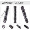 UKing ZQ-J33 5mW 532nm & 450nm doppeltes Licht 5 in 1 USB Laser Pointer