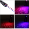 UKing ZQ-J34 5mW 650nm & 450nm doppeltes Licht 5 in 1 USB Laser Pointer