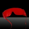 200-560nm Laser Eyes Protective Goggle Glasses Red with Glasses Cloth