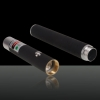 5mW 532nm Mid-open Green Laser Pointer (pas d'emballage) Noir