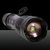 E6  T6 1200 Lumens 10W 3.7-4.2V 1Led 5Modes Focus Flashlight Black