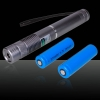 TS-002 1000mW 532nm Caneta Laser Pointer Silver Grey