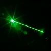 300mW Grid Pattern Professional Green Light Laser Pointer Suit with Battery & Charger Silver
