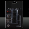 Alta precisão 10mW LT-R29 Red Laser Sight Black