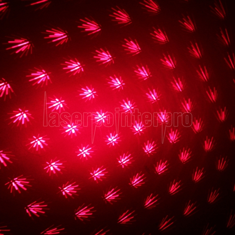 200mw Middle Open Starry Pattern Red Light Naked Laser