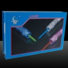 200mW 532nm Focus Green Beam Light Laser Pointer Pen Blue