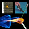 1000MW Multifunctional Burning 5 in 1 Capacitive Laser Pointer Black