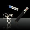 30mW 532nm High Power Green Laser Pointer Pen with Keychain