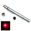 650nm 5mW Open-back Ultra puissant stylo pointeur laser rouge argent