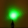 5 em 1 5mW 532nm Mid-aberto Kaleidoscopic Green Laser Pointer Pen
