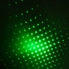10mW 532nm Open-back Kaleidoscopic Green Laser Pointer Pen with 2AAA Battery