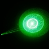 5 in 1 100mW 532nm Green Laser Pointer Pen Black (included two LR03 AAA 1.5V batteries)