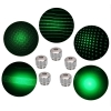50000mw 520nm Gatling Burning High Power verde puntero láser kits azul