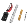 50000mW 450nm 5 in 1 brennende High Power Blue Laser Pointer Kits Silber