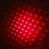 200mW 650nm Rechargeable Red Laser Pointer Beam Light Starry Silver