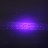 305 200mW 405nm 5 in 1 Puntatore laser blu ricaricabile Beam Light Starry Laser Black