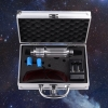 500mw 450nm Gatling Burning Blue Laser pointer kits Silver