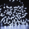 Christmas Light White 100 LED Solar String Light