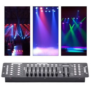 192CH DMX512 Stage Light Laser DJ Controlador LED de luz (CA 100-240V)
