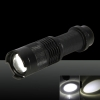 SK68/Q5 250LM 1 Mode Adjustable Focal High Light Flashlight Black