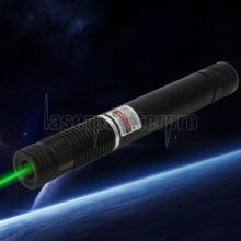 500 MW Beam Green Laser Pointer Schwarz