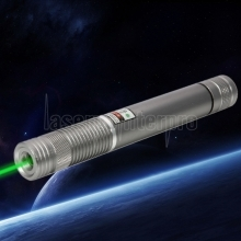 500MW Beam Green Laser Pointer Silver