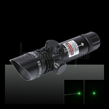 50mW Green Beam Light Slanted Head Láser Gun Sighter Black