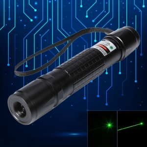 400mW 532nm Green Beam Light Laser Pointer Pen Black 853