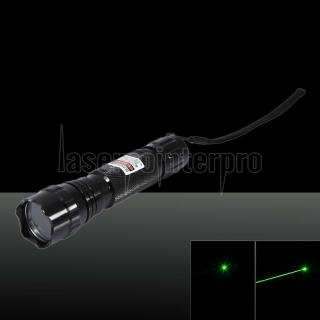 100mW 532nm Green Beam Light Laser Pointer Pen noir