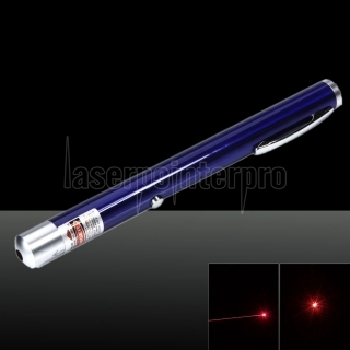100mW 650nm rouge faisceau point unique USB charge stylo pointeur laser bleu