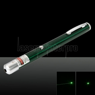 100mW 532nm Green Beam Light puntero láser recargable de un solo punto Pen Green