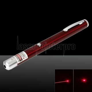 5mW 650nm Red Beam Light Single-point Rechargeable Laser Pointer Pen Red