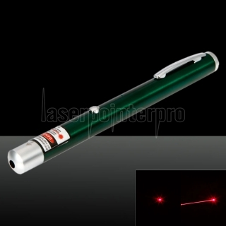 200mW 650nm Red Beam Light pointeur laser rechargeable pointeur stylo vert