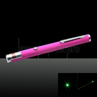 300mW 532nm Single-Point USB kostenpflichtige Laserpointer Pink LT-ZS006