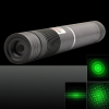 500mW 532nm Green Beam Light Focusing Pen puntero láser portátil negro LT-HJG0086