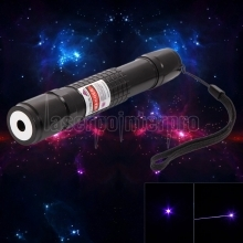 laser618 500mw 405nm Aluminum Alloy Purple Laser Pointer Black