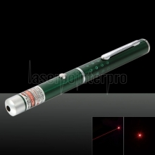 650nm 1mw rouge laser faisceau point unique stylo pointeur laser vert