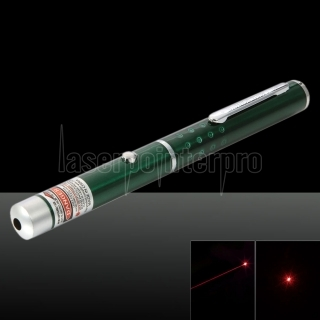 650nm 1mw Red Laser Beam Single-point Laser Pointer Pen Green