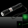 300mw 532nm Adjustable Focus Waterproof Green Laser Pointer Pen Black