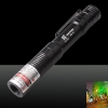 50mW 5-em-1 Mini Red Light Laser Pointer Pen Preto