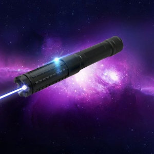 LT-08890LGF 4000mw 450nm Pure Blue Beam Luz Multi-funcional Recarregável Laser Pointer Pen Set Preto