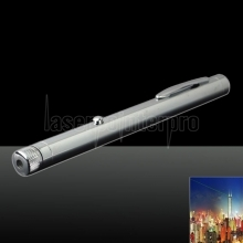 30mw 532nm Green Beam Light Starry Sky Light Style Todo acero puntero láser Pen Color brillante del metal
