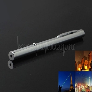 532nm 5mw Green Light Single Dot Light Style Pen Style All-steel Puntatore laser Colore brillante in metallo