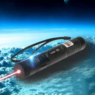 Laser 301 1000mW 650nm Red Beam Light Single-point Laser Pointer Pen Black