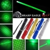 SHARP EAGLE ZQ-LV 400mW 532nm 5-en-1 Diverso patrón Green Beam Light Multifuncional Laser Sword Kit Negro