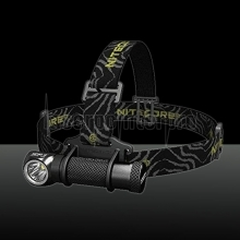 Nitecore 1000LM HC30 XM-L2 U2 White Light LED Headlamp with Clamp Black