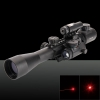 3-in-1 Multifunctional Button Cells 3-9X Magnification Rifle Scope with Laser Sight Black